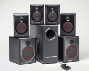 XD Powered Desktop Speaker Series from Cerwin-Vega