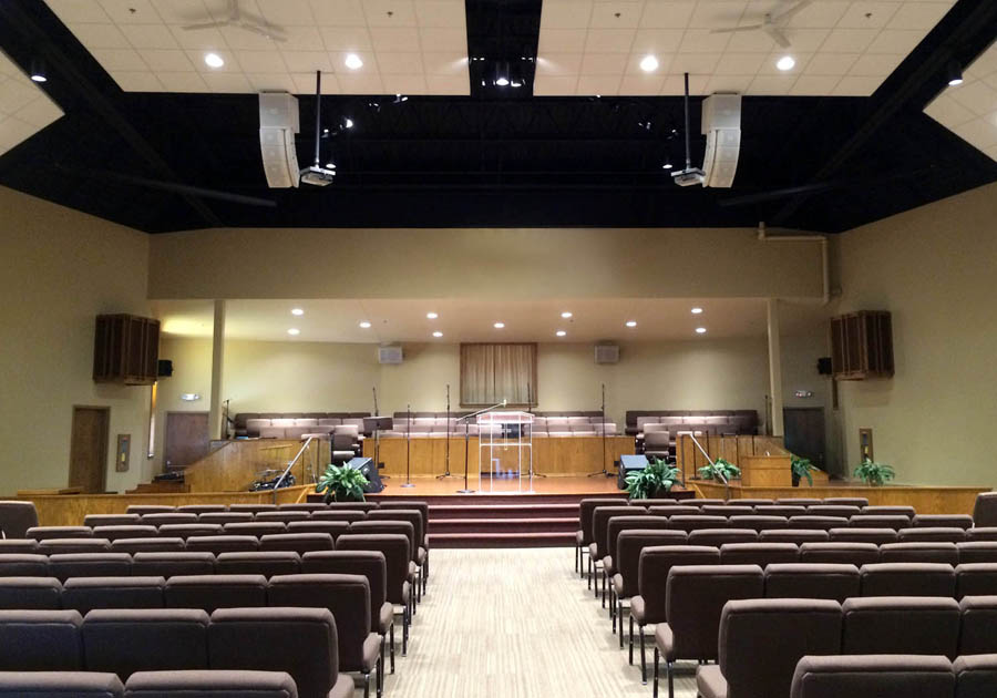 New Hope Baptist Church Believes In Ashly Technologies