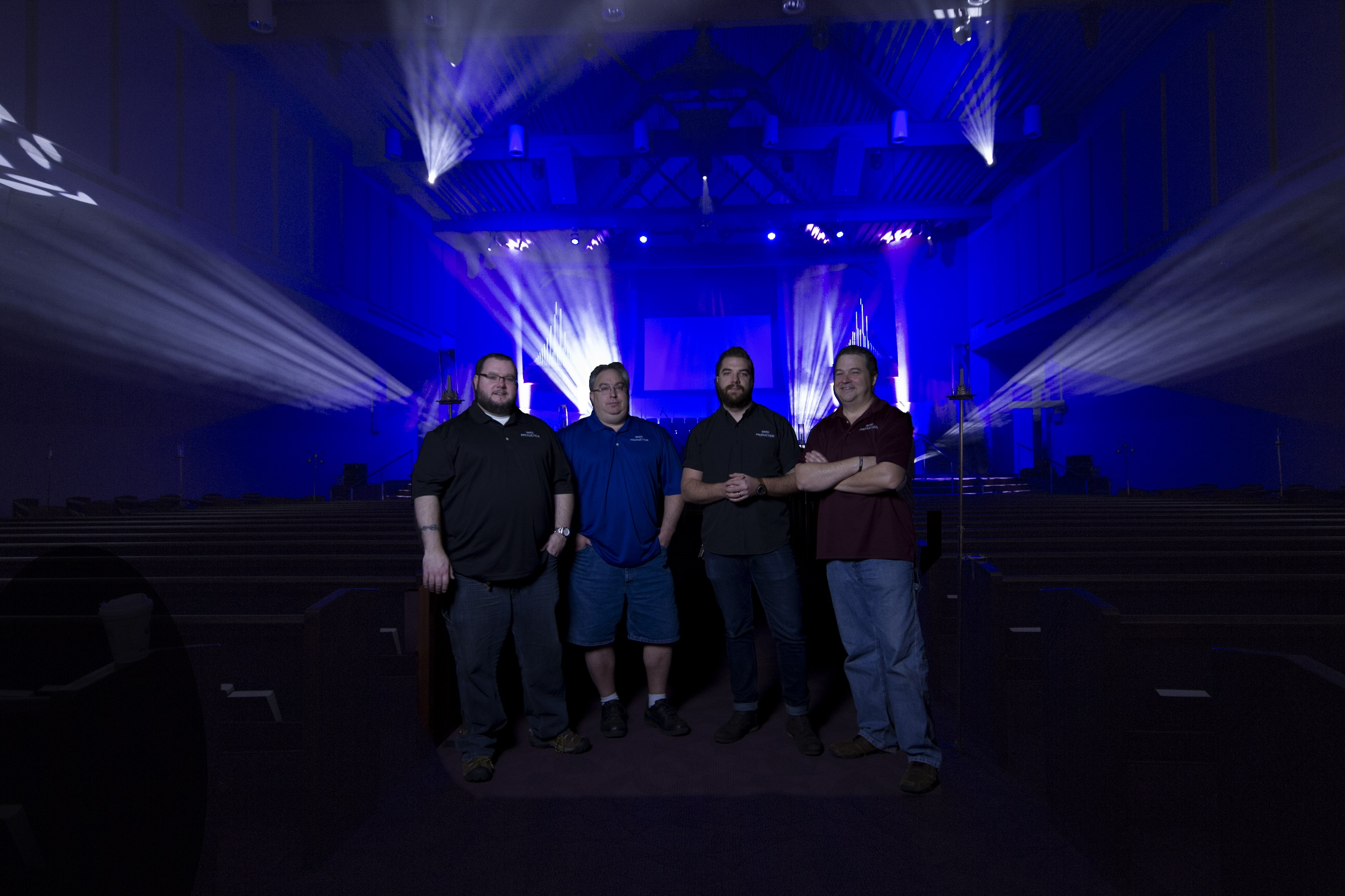 Ward Church_22 & Elation LED Lighting Upgrade Enhances Worship at Michiganu0027s Ward ...