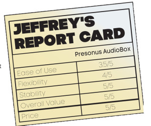 Presonus report