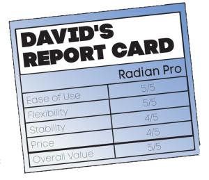 Radian Pro report