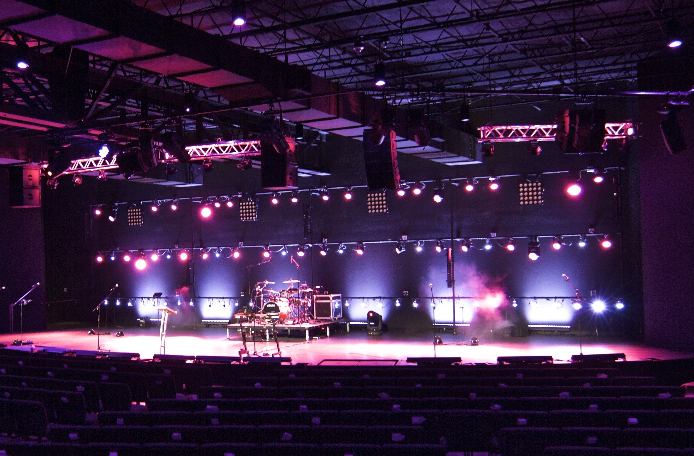 Raleigh First Assembly Church_3 & All LED Elation Lighting Package for North Carolinau0027s Raleigh ... azcodes.com