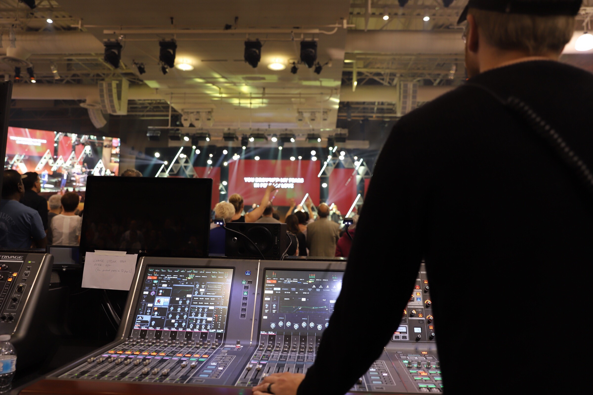 Saddleback Church Upgrades Audio Consoles With Dual Yamaha RIVAGE