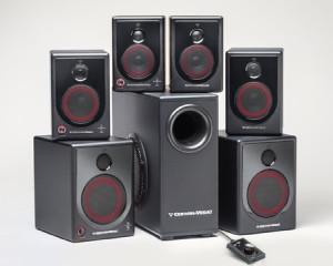 XD Powered Desktop Speaker Series from Cerwin-Vega