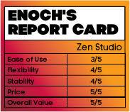 Zen Studio report