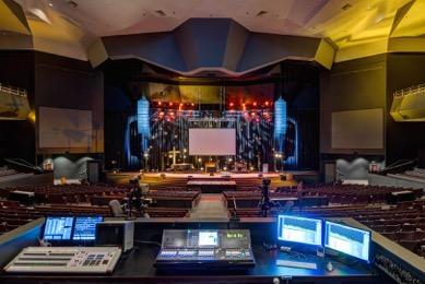 Overlake Christian Church NEXO Yamaha