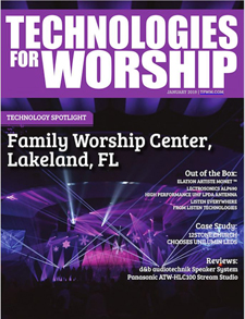 Digital Magazine   Technologies for Worship Magazine
